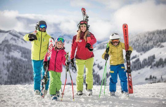 Family skiing holidays Hotel Bergzeit