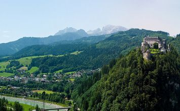 Hohenwerfen Castle Day-trip destination